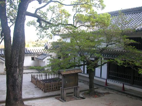 interno castello himeji