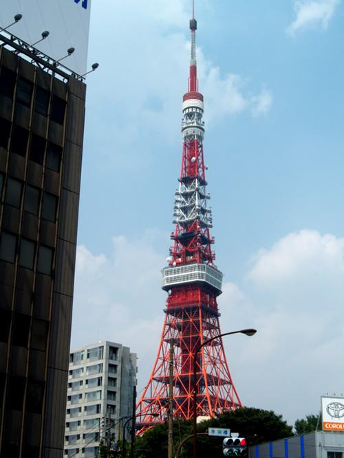 Vista Completa della Tokyotower