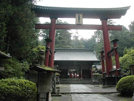 santuario Sengen jinja Fujiyoshida