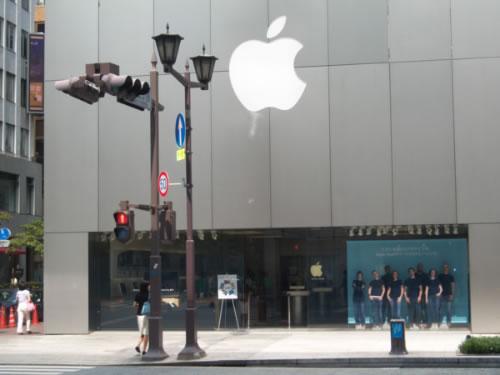 Entrata AppleStore Ginza