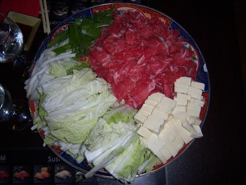 ingredienti sukiyaki