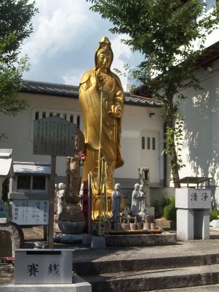 statua, forse di kannon