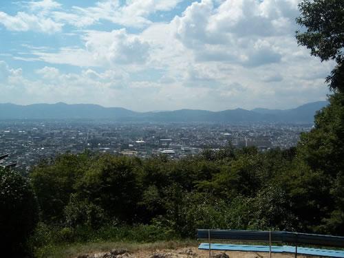 panorama dal fushimi inari