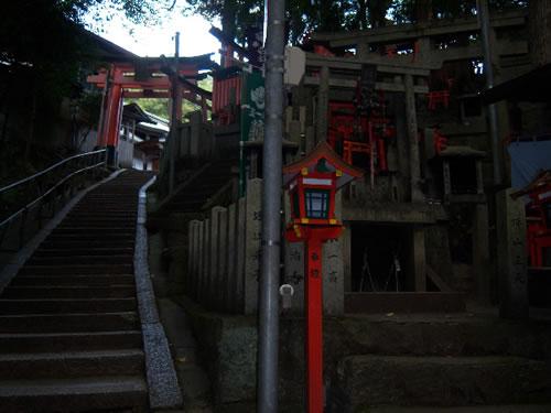 scale al fushimi inari taisha