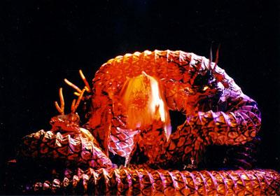 natsu matsuri danza del drago