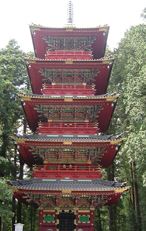 pagoda tempio tosho-gu nikko
