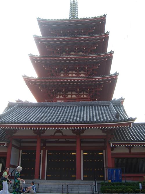 Pagoda del Sensoji di Asakusa