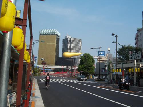 palazzo della birra ad Asakusa
