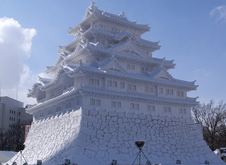 sapporo snow festival castello himeji