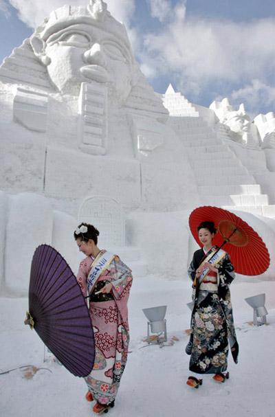 egitto snow festival