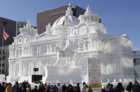palazzo sapporo snow festival