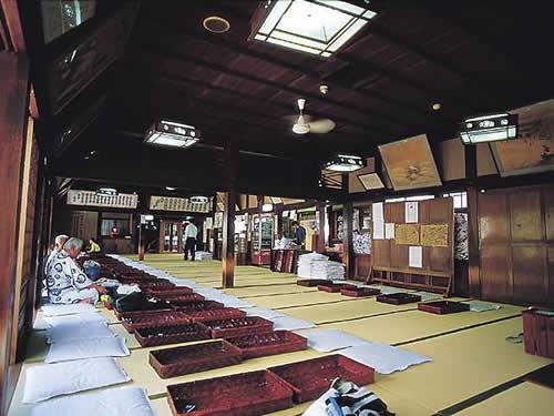 dogo onsen, stanza dei tatami al secondo piano
