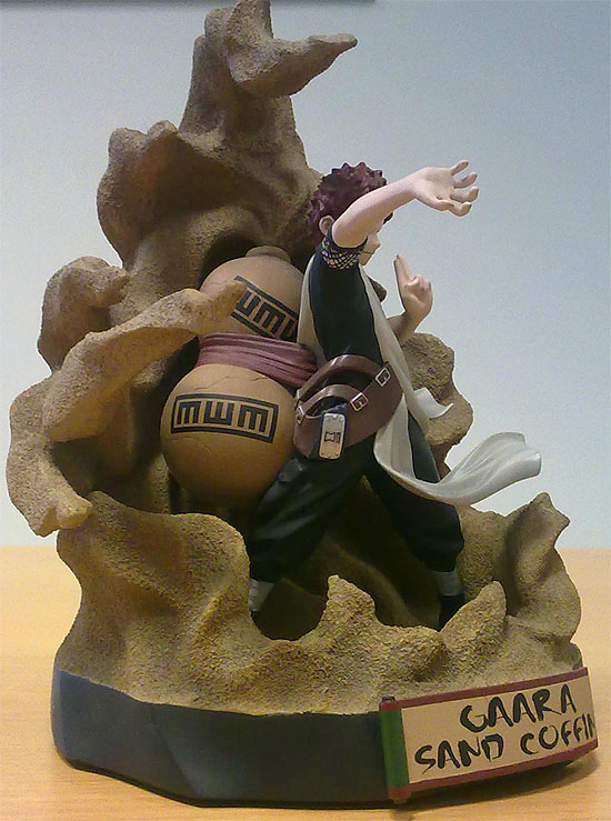 Gaara sand coffin action figure