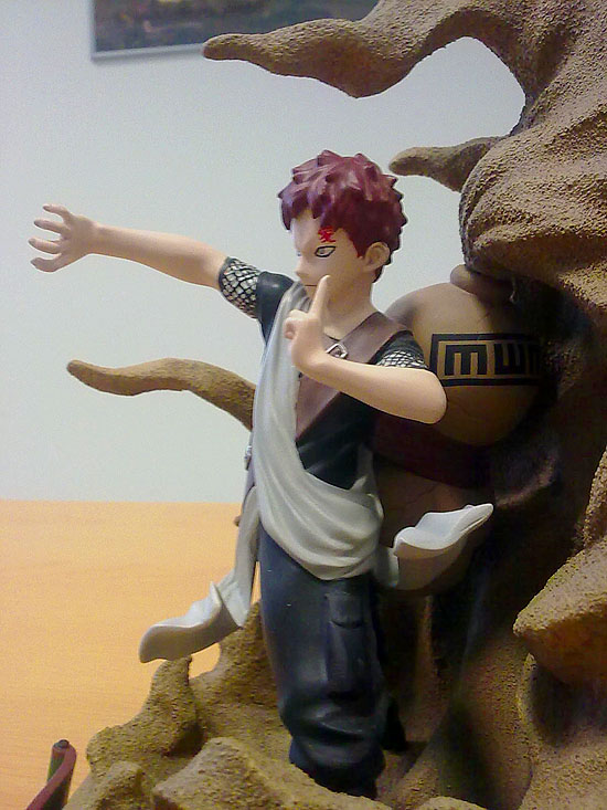 action figure gaara