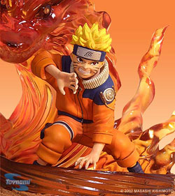 action figure Naruto volpe a nove code
