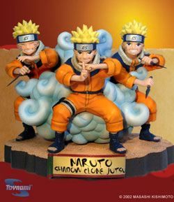 action figure Naruto clone d'ombra