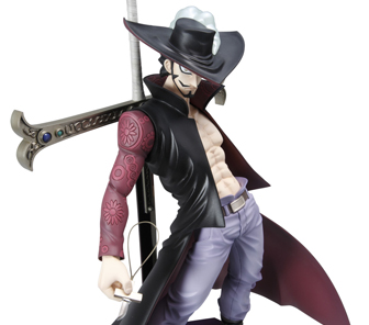 action figure Mihawk one piece
