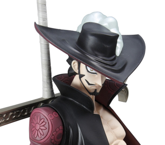 Mihawk action figure one piece