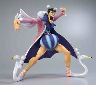 Mr 2 Von Clay action figure one piece