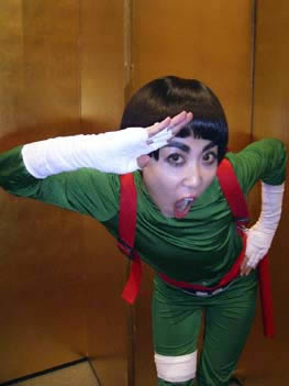 Rock Lee Cosplay