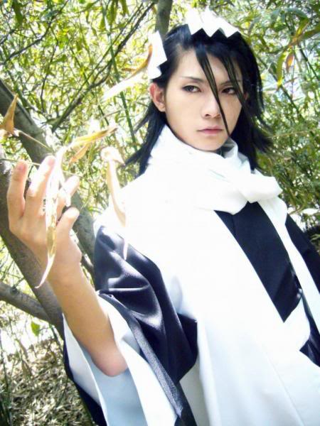 Cosplay Bleach Byakuya 2