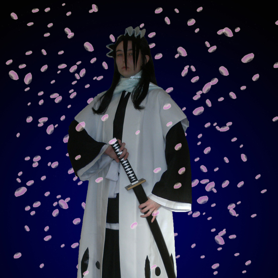 Cosplay Bleach Byakuya 5