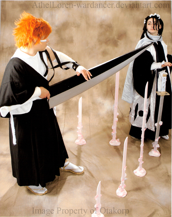 Cosplay Bleach Byakuya 6