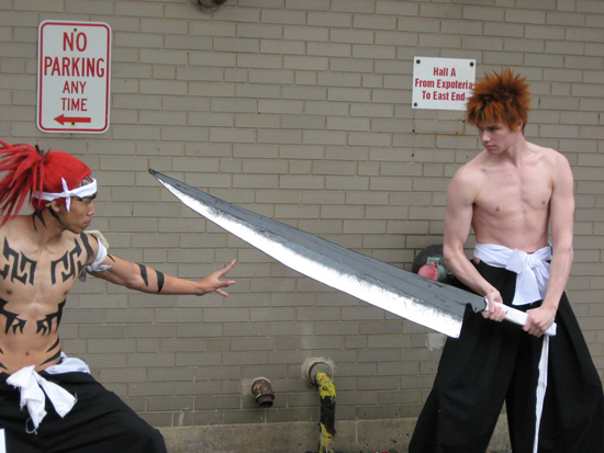 Cosplay Bleach Renji Ichigo