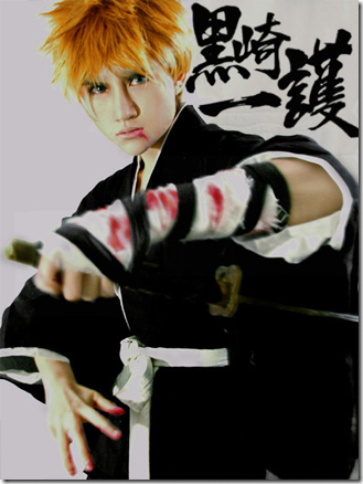 Cosplay Bleach Ichigo 3