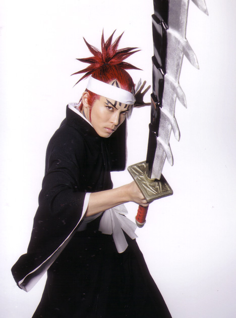 Cosplay Bleach Renji 1
