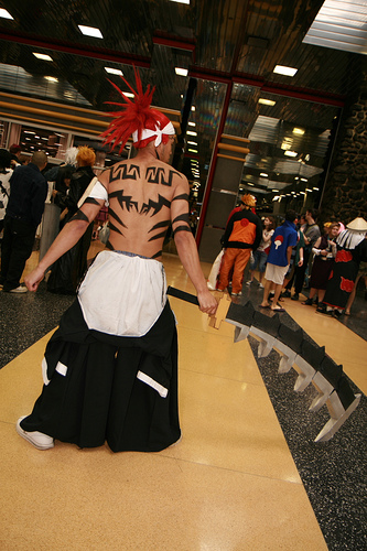 Cosplay Bleach Renji 3
