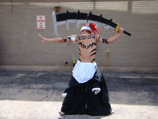 Cosplay Bleach Renji 6