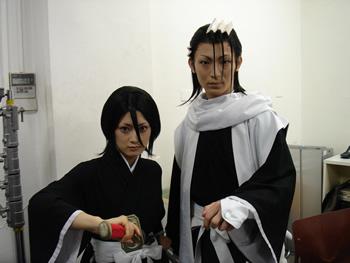 Cosplay Bleach Rukia Byakuya