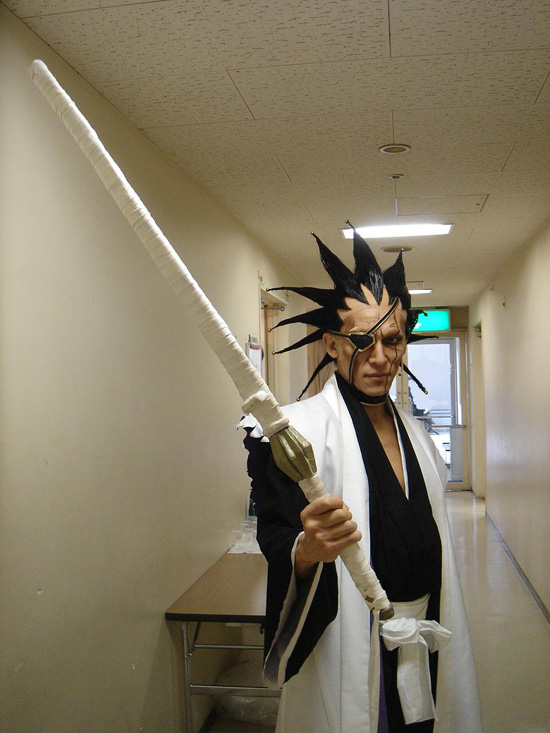 Cosplay Bleach Kenpachi