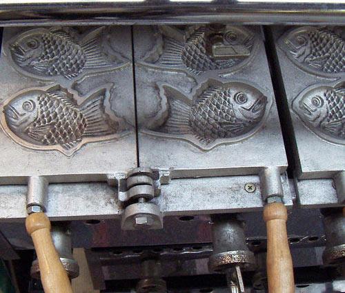 piastra per taiyaki