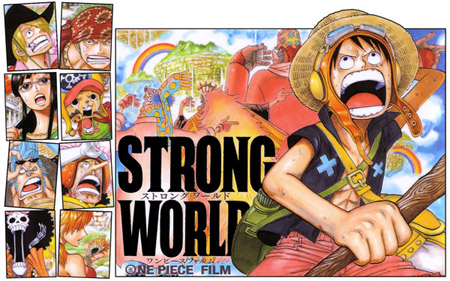 one piece strong word