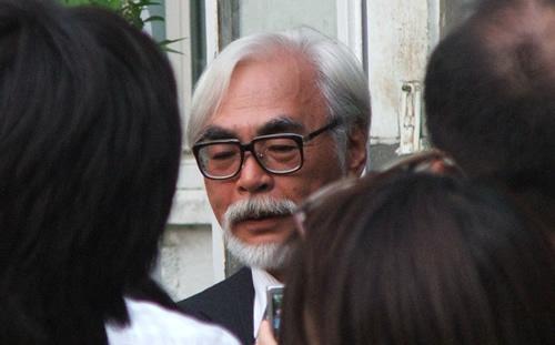 Intervista ad Hayao Miyazaki dopo la proiezione di Ponyo alla Mostra del Cinema di Venezia