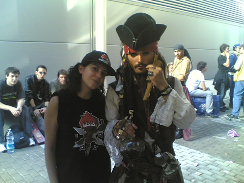 Rukia e Jack Sparrow