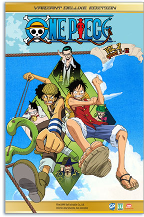 one piece dvd collection 2 variant