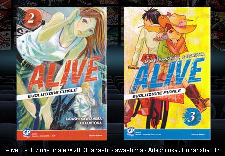 alive evoluzione finale manga