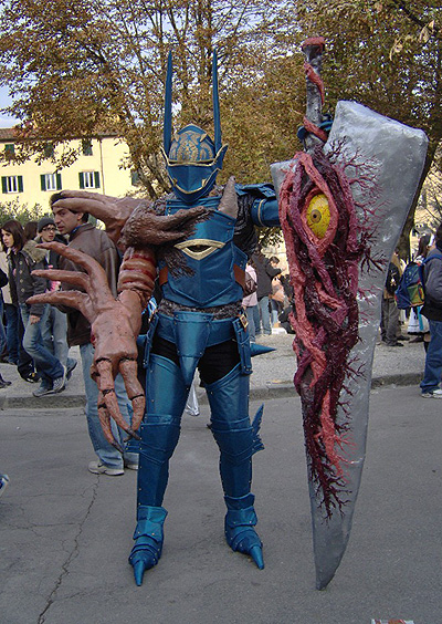 Soul Calibur 2 cosplay Nightmare