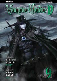 Vampire hunter D n.4