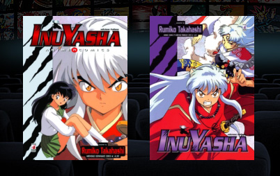 inuyasha manga anime color