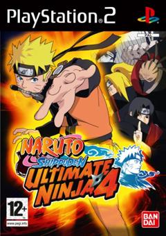 cover naruto ultimate ninja 4