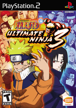cover naruto ultimate ninja 3