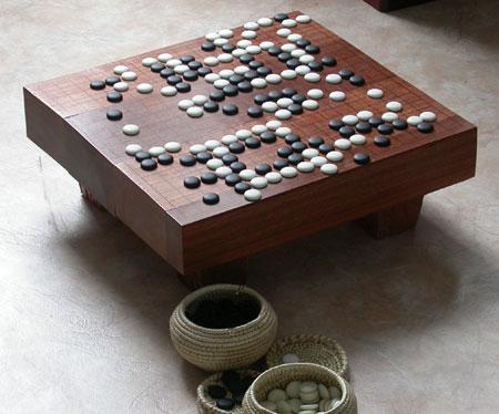 tavolo del GO goban