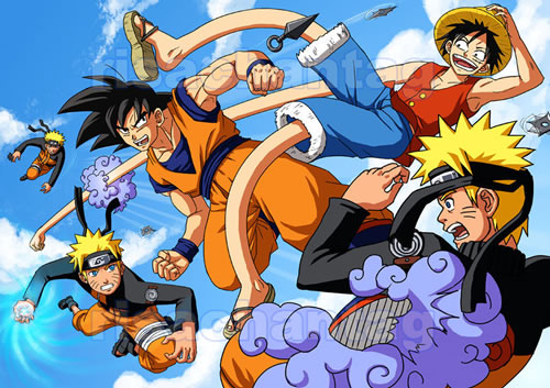 DBZ:OP:Naruto: Melee by Risachantag