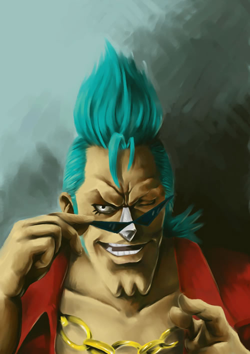 Franky - One Piece by Skan