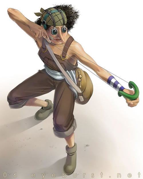 One Piece: Usopp by crystaldragon