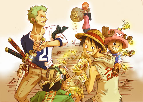 Their fair share- One Piece by AnnouncerGuy
